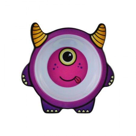 Suppenteller mit Monster Bert als Motiv