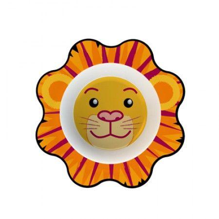 Suppenteller für Kleinkinder mit Löwe als Motiv