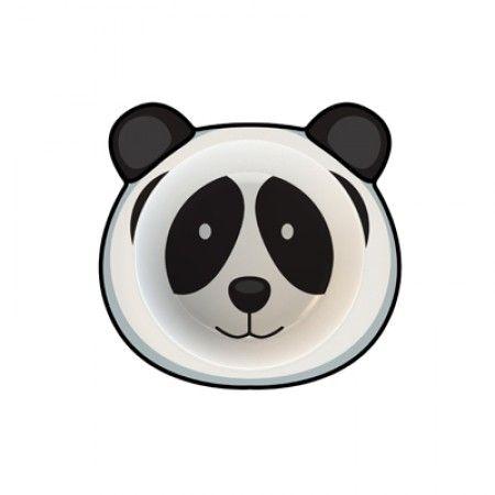 Suppenteller für Kleinkinder mit Panda als Motiv